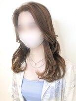 アマンドール(AMAN D'OR)韓国風*内巻きグロッシースタイル