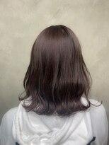 サロンドミルク 原宿(salon de MiLK)ナチュラルラベンダーブラウン 髪質改善
