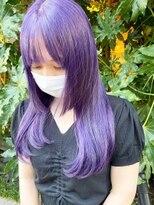 シンゴナカムラ ヘアカラーサロン(SHINGO NAKAMURA HAIR COLOR SALON)クレイジーカラー★バイオレット 自然光Ver.