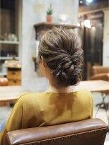 ノエル ヘアー アトリエ(Noele hair atelier)『Noele』ふわふわツイストシニヨン