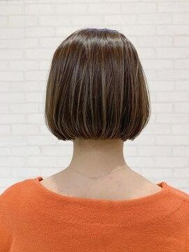 ビス ヘア アンド ビューティー 西新井店(Vis Hair&Beauty)大人可愛いショートボブ/ハイライト/ボブ/小顔/バレイヤージュ