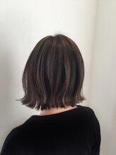 ブランシュ 中島店(Hair&Esthe Blanche)切りっぱなしボブ
