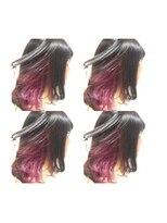 フェイス 池袋店(face)face池袋【eriko】インナーカラー ピンクパープル♪