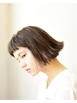 hair salon Kette 外はねボブ