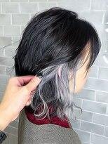 オーブ ヘアー ヘレン 成田店(AUBE HAIR heln)【AUBE HAIR】シアクールインナーカラー_セシルカット