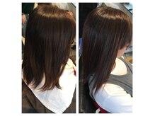 アトラクト(Attract Hair salon)の雰囲気(〈髪質改善〉アイロンを使わない縮毛矯正でダメージレスな艶髪♪)