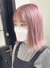 アゴーグ(agog)pink beige☆mov☆neon pink