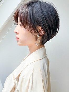 スタートーキョーバイケーツー 渋谷(STAR TOKYO by K-two)の写真/顔型診断とこだわり技術で仕上げる美シルエットで自分史上最高の小顔を実現!【カットカラーTRスパ¥9800】