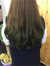 ヘアーメイク マヒナ(hair make mahina)★ヘアーメイクマヒナ★上品なNOブリ-チ☆グラデーションカラ-