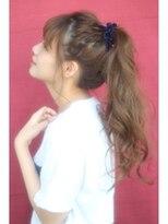 ポニーテール. 【長さ別】女子高校生に似合う髪型アレンジ|前髪/ストレート