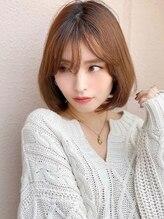 アグ ヘアー スター 大阪あびこ店(Agu hair star)《Agu hair》色っぽかわいいワンカールボブ