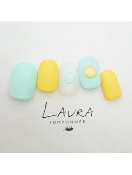 ローラポンポニー(Laura pomponnee)/3月新作【Color me sugar】