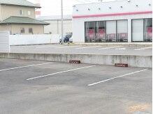 店舗横に駐車場をご用意しています!