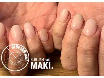 ブルージャムネイル(BLUE.JAM.nail)/うるつやワンカラー☆ MAKI