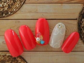 レイ ネイルアンドセレクトショップ(Lei Nail&Selectshop)/フラワーネイル