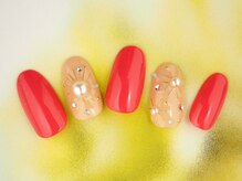 レイ ネイルアンドセレクトショップ(Lei Nail&Selectshop)/ワイヤーandパールネイル