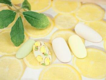 レイ ネイルアンドセレクトショップ(Lei Nail&Selectshop)/レモンネイル
