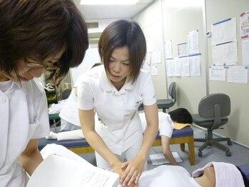 静岡療術整体院/整体学校での指導【大畑先生】