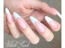 ネイルファクトリー カレン(Nail factory Karen)/バーチャルフレンチで美爪に♪