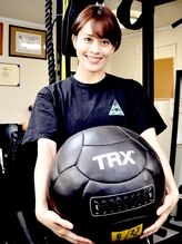 TRX認定資格全て取得の施術者!