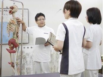 静岡療術整体院/整体学校での指導【久保先生】