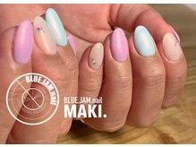 ブルージャムネイル(BLUE.JAM.nail)/SMALLデザイン☆おまかせ MAKI