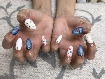 エムアイネイル(MI nail)/ジェルアートやり放題¥7980+税