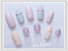 リロウ(relow)/12月キャンペーンネイル☆1,2