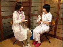 トータルフットケア ペディ・ナース京都の雰囲気(カウンセリングで足のお悩みをお伺い致します。口コミ来店も多数)