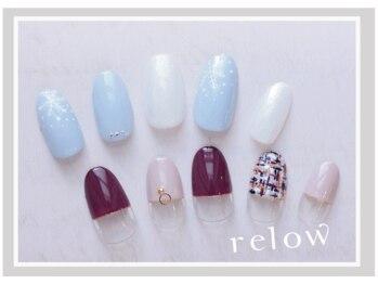 リロウ(relow)/12月キャンペーンネイル☆3,4