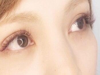 ブルーアイラッシュ(bleu eyelash)の写真/【高級セーブル★80本¥2750(初回)】大人気美容室bleuプロデュ-ス☆流行のカラーエクステは+¥1100~追加◎