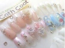 ネイルサロン キャスコート(nail salon Cath Coat)の雰囲気(ブライダル・成人式ネイル♪チップも受け付けてます!)