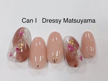 キャンアイドレッシー 松山大街道店(Can I Dressy)/ニュアンスフラワー◎ 4980円