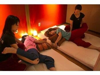 """アジアンクー(ASIAN KUU)の写真/マッサージサロンの新しい楽しみ方を提案してくれる""""ASIAN KUU""""友達・カップル・女子会・男子会もOK!"""