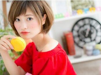 フェリスバイマカロン (Felice by macaron)の写真/東京のモデル事務所と提携★ふわっとしたナチュラルeyeからゴージャスeyeまで♪キュートな愛され目元に☆