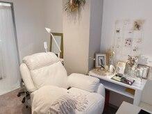 リンベル(Linbelle)の雰囲気(アイラッシュスペースは個室2部屋、半個室1部屋があります。)