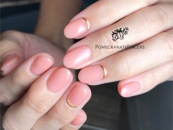 ポミグラニットフィンガーズ(Pomegranate Fingers)の写真/【深爪矯正/自爪育成専門サロン】長年のお悩みにサヨナラ!ケアが得意な南堀江のワンランク上のネイルサロン
