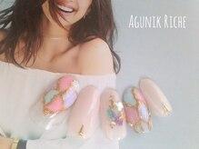 アグニークリッシェ(Agunik Riche)/【モザイクネイル】