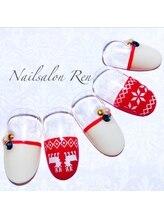 ネイルサロン蓮/クリスマスネイル