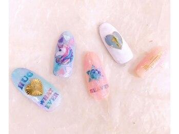 ネイルサロン マジックティンク(Magic Tink)/夢かわネイル♪ リゾート