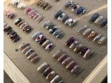 キャンネイル 金山店(Can Nail)の雰囲気(サンプルの数は500種類以上!!常に新作をご用意!)