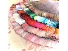 カラーが豊富なサロン きっとお好みのお色が見つかります♪