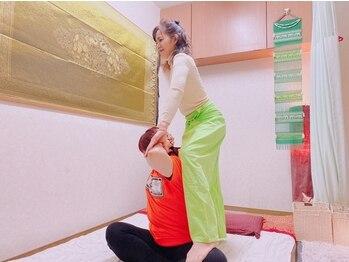 ポーンマッサージサロン(Porn Massage Salon)の写真/【当店人気NO1本格タイ古式90分¥6300】頑張っている自分へのご褒美に♪巧みな技術がヤミツキに◎