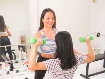 ラブアンドライフボディメイクスタジオ(Love & Life Body Make Studio)の写真/【表参道駅3分】完全個室×衛生管理◎経験豊かな女性トレーナーによる女性目線の美Bodyプライベートジム♪