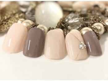 ネイルアンドアイラッシュ ブレス エスパル山形本店(BLESS)/大人女子ネイル