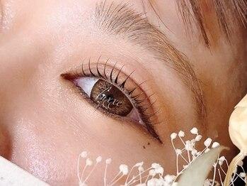 ラグゼ 高林店(Luxxe)の写真/仕上りが想像以上に綺麗で感動のまつ毛パーマ!まつ毛の傷みを修復する化粧品登録ルチアまつ毛パーマ¥5060