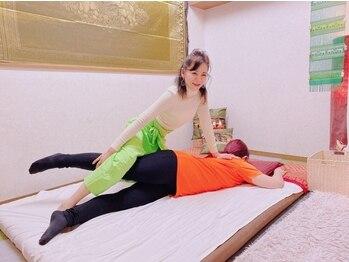 ポーンマッサージサロン(Porn Massage Salon)の写真/【本格タイ古式120分¥8400】全身が軽くなっていくような味わったことのない心地よさに包まれる!