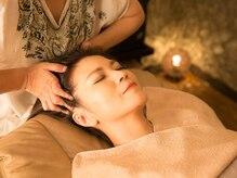 ドライヘッドスパチル(chill)の雰囲気(凝り固まった頭の筋膜を解し、いつの間にか眠りの中へ。)
