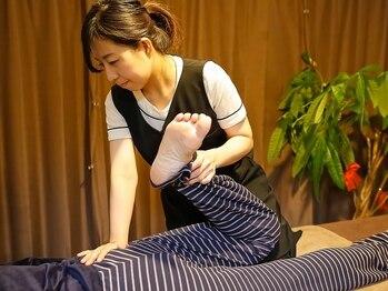 トータルボディサロン ひよりの写真/手足ポカポカ!身体の歪みを整えて女性の悩みである体の冷え・むくみに効果的!内からじんわり温まる◎