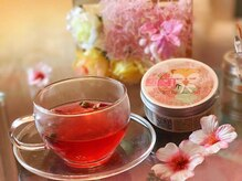 アイアンドヒトミ(Ai&Hitomi)の雰囲気(施術後、美肌効果がある美味しいお茶をご用意◎是非お試しを♪)